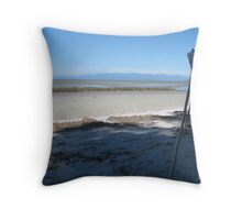 To the Vanishing Point Throw Pillow