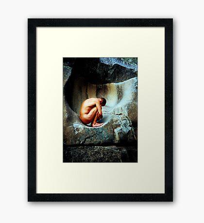 In Utero - Colour Framed Print