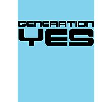 Generation Yes by Chillee Wilson Photographic Print
