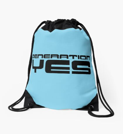 Generation Yes by Chillee Wilson Drawstring Bag