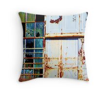 Rusty and Worn Throw Pillow
