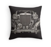 This Old MG Throw Pillow