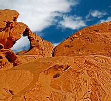 Valley of Fire, Nevada, Postcard by trevortrent