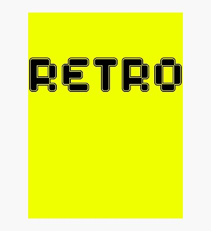 Retro by Chillee Wilson Photographic Print