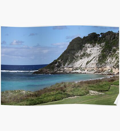 Ned's Beach on Lord Howe Island Poster