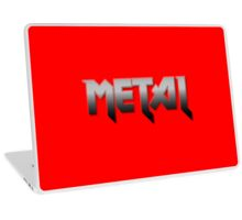 METAL by Chillee Wilson Laptop Skin