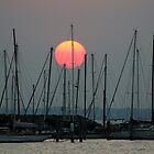 St Kilda Marina Sunset by Neil Swenser