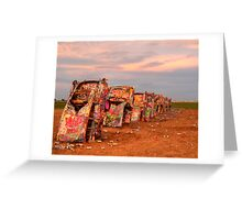 Amarillo Lawn Dart II Greeting Card