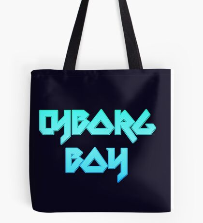 CYBORG BOY by Chillee Wilson Tote Bag