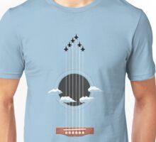 Sky Guitar Unisex T-Shirt