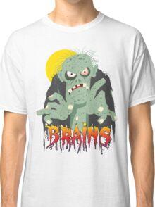 Zombie BRAINS Classic T-Shirt