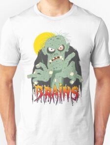 Zombie BRAINS T-Shirt
