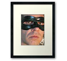 super hero 2 Framed Print