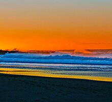 Sunrise at Garie Beach - Sydney Royal National Park, NSW, Australia by Mark Richards