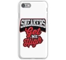 Sneakers Get Me High Bred iPhone Case/Skin