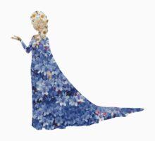 Flowery Elsa Kids Tee