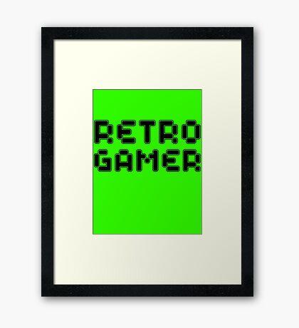 Retro Gamer by Chillee Wilson Framed Print