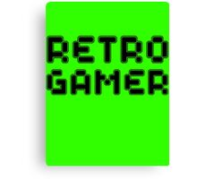 Retro Gamer by Chillee Wilson Canvas Print