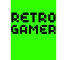 Retro Gamer by Chillee Wilson Photographic Print