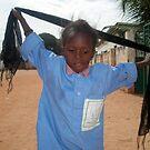 gambian schoolgirl by elisabeth tainsh