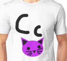 Cc for Cat Unisex T-Shirt