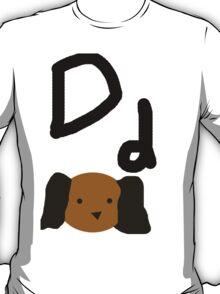 Dd for Dog T-Shirt