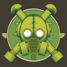 Art Deco Combat Gasmask by Rustyoldtown