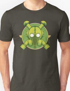 Art Deco Combat Gasmask T-Shirt