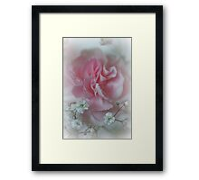 Whispers In My Dreams.... Framed Print