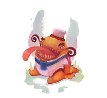Tahm Kench, the Master Chef *chibi* - League of Legends Photographic Print