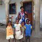 Family in Serakunda  by elisabeth tainsh