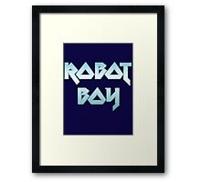 ROBOT BOY by Chillee Wilson Framed Print