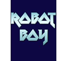ROBOT BOY by Chillee Wilson Photographic Print