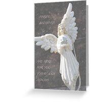 Angel Blessings Greeting Card