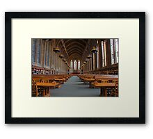 Suzzallo Library (University of Washington) Framed Print