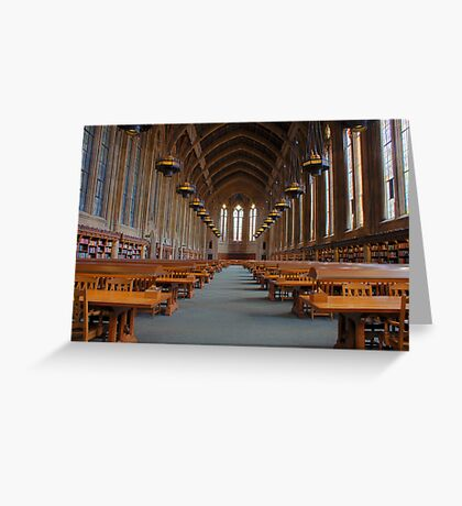 Suzzallo Library (University of Washington) Greeting Card