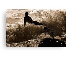 GLIDER SURFER  Canvas Print
