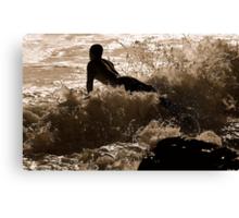 GLIDER SURFER  Canvas Print