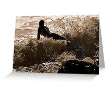 GLIDER SURFER  Greeting Card
