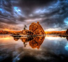Storm Rock by Bob Larson