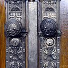 Temple Doors ~Salt Lake Temple by Jan  Tribe