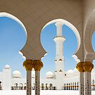 Sheik Zayed Mosque  by Mary Grekos