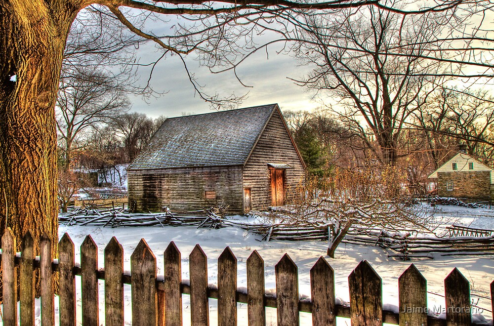 Philipsburg Manor Barn in HDR by Jaime Martorano