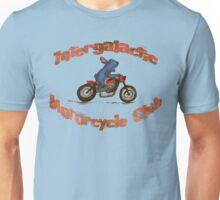 Intergalactic Motorcycle Stitch Unisex T-Shirt