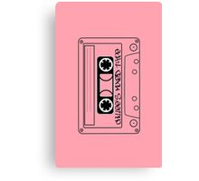 Chillee's Mixed Tape 2 by Chillee Wilson Canvas Print