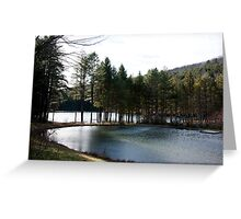 Vermont Ponds Greeting Card