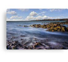 Church In The Sea Canvas Print