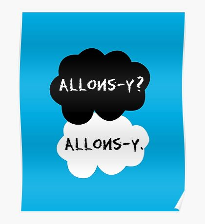 allons-y? allons-y. Poster