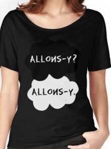 allons-y? allons-y. Women's Relaxed Fit T-Shirt