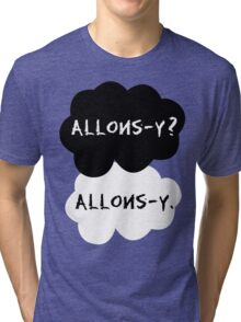 allons-y? allons-y. Tri-blend T-Shirt